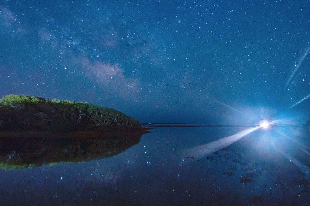 Carrot Island, NC Stars