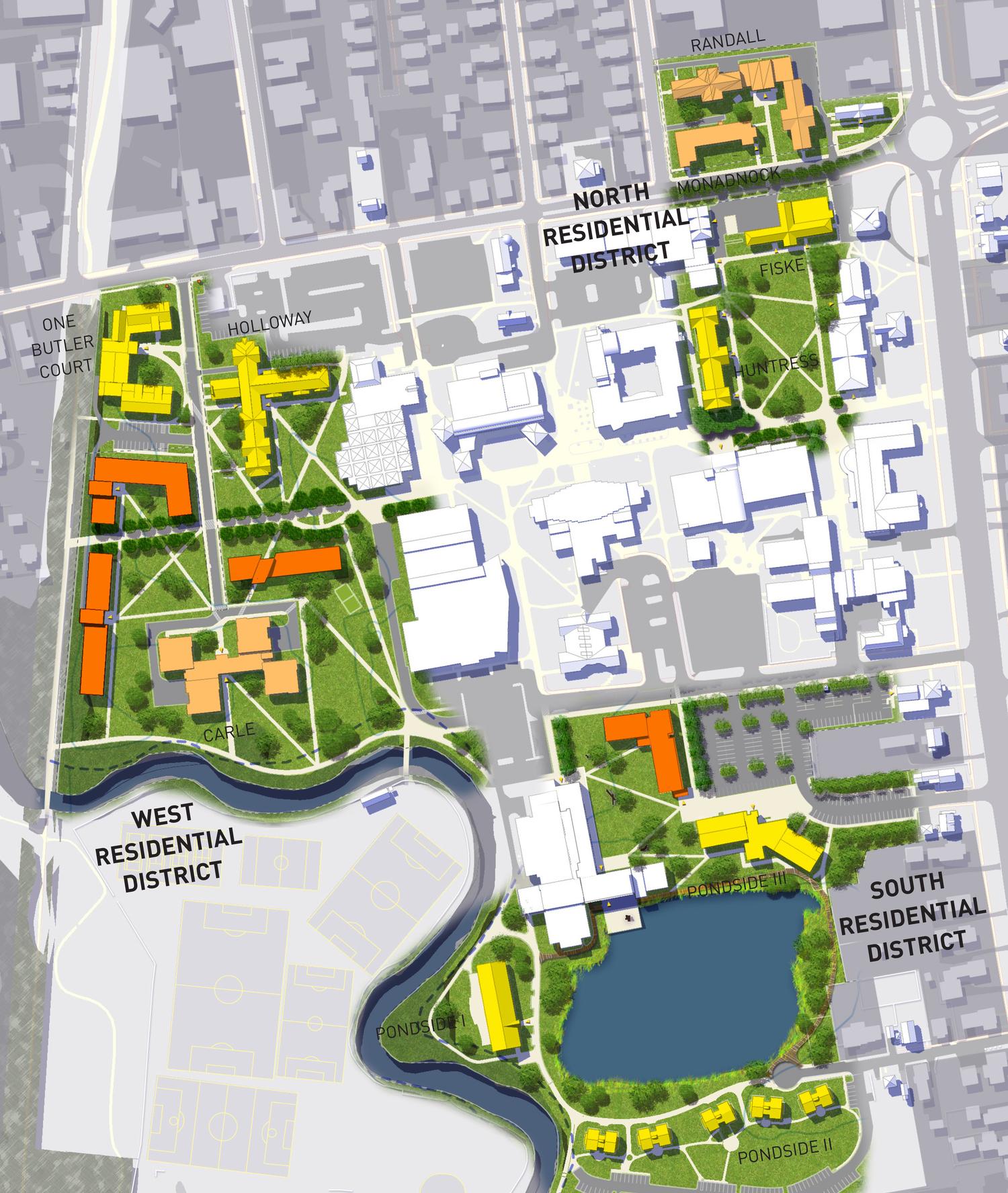 Keene State College Campus Master Plan Hedlund Design Group