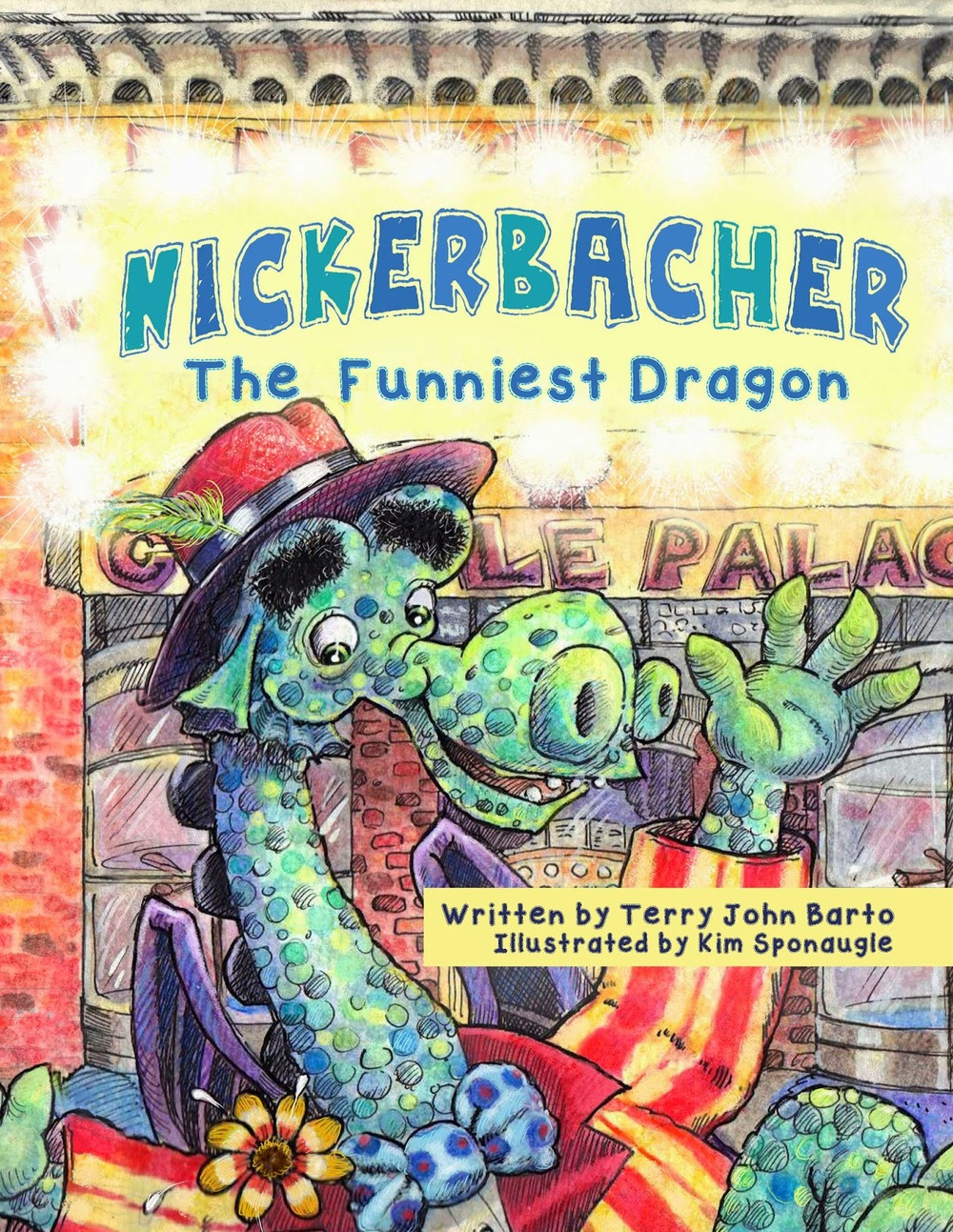Nickerbacher, The Funniest Dragon By Terry John Barto in OutlooK-12 Magazine