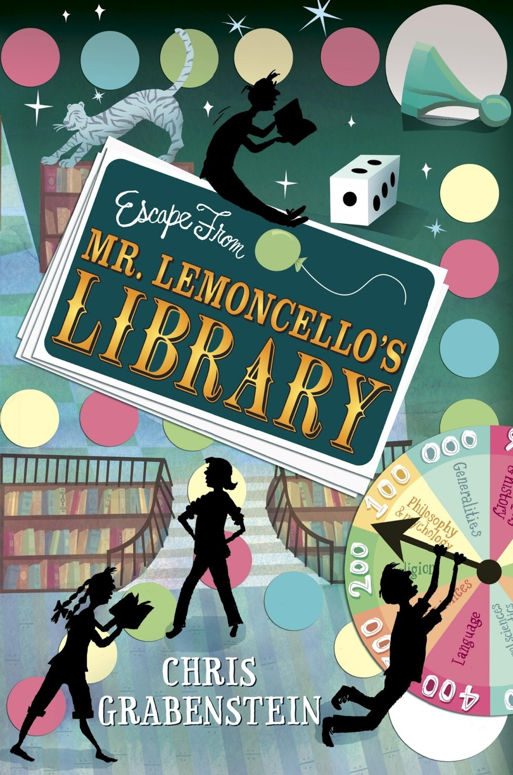 Escape from Mr. Lemoncello's Library by Chris Grabenstein in OutlooK-12 Magazine