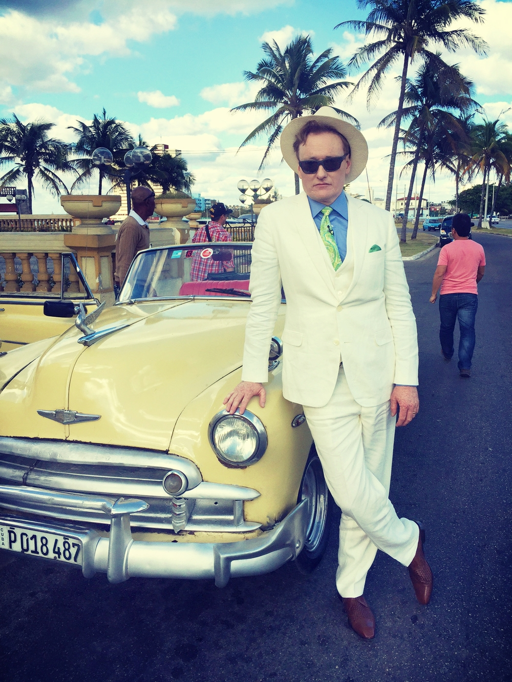"""Conan O'Brien's Trip to Cuba: """"It was one of the greatest experiences of my life!"""" in OutlooK-12 Magazine"""