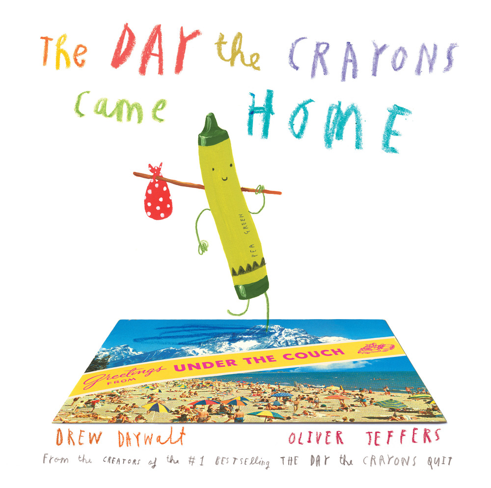 The Day the Crayons came home By Drew Daywalt & Oliver Jeffers in OutlooK-12 Magazine