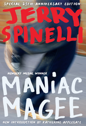 MANIAC MAGEE. OutlooK-12 Magazine