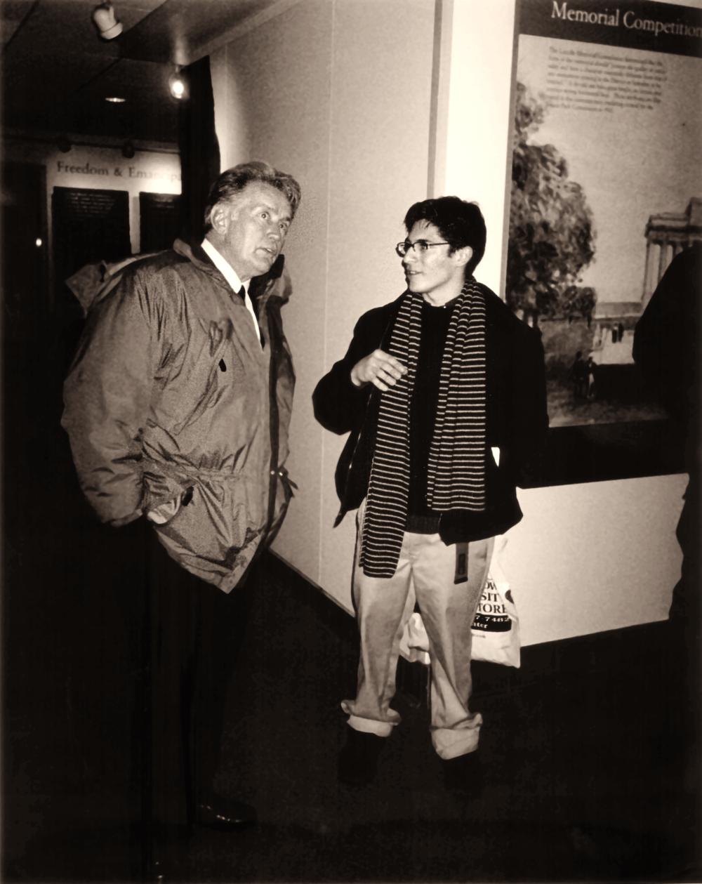 Octavio Gonzalez with his mentor Martin Sheen.Photo Courtesy of Octavio Gonzalez
