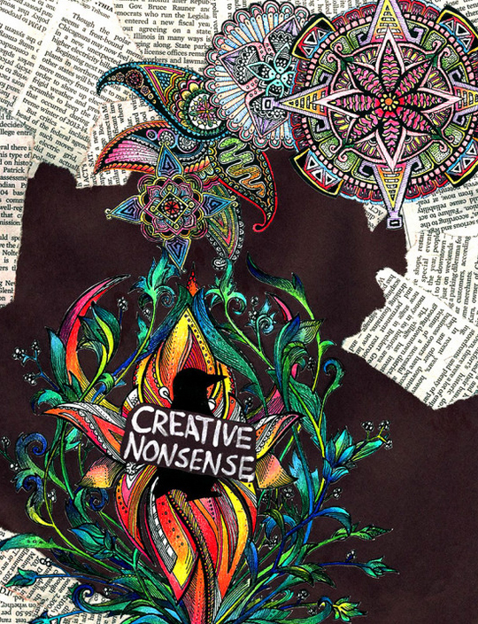 "The Ezra Jack Keats Mini-Grant award made it possible for the Teen Open Studio of the Blue Island Public Library in Blue Island, IL to buy professional-grade art supplies to produce and publish the  Creative Nonsense Library Zine , featuring their writing and artwork. ""The value of a creative outlet to many of the teens in our disadvantaged town cannot be overstated,"" says Micah Rademacher, the librarian who runs the program. For more information, visit     Ezra Jack Keats Mini-Grants  ."