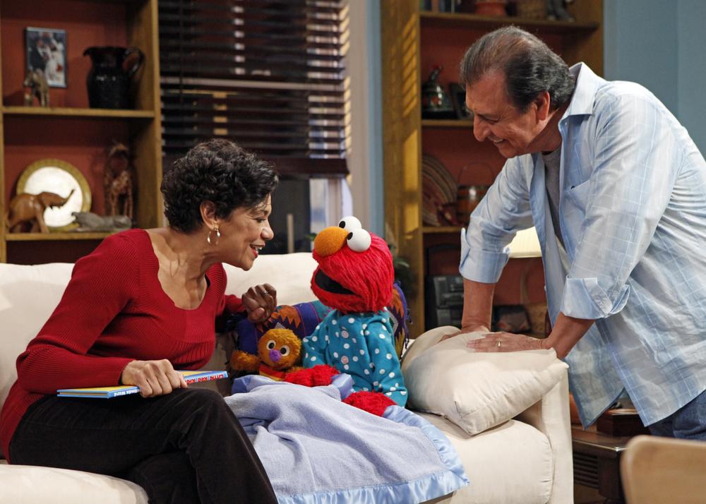 Maria, Elmo and Luis