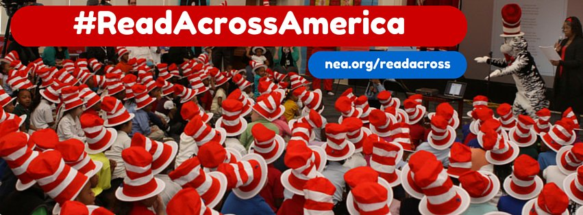 Photo Courtesy of Read Across America's Facebook Page