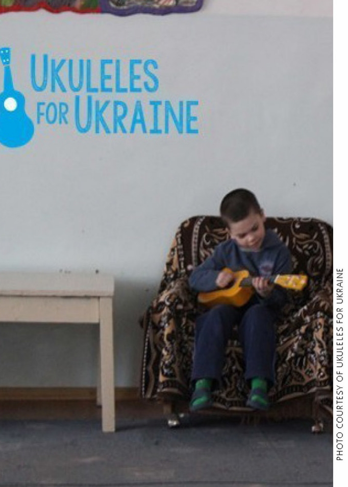 Ukuleles for Ukraine