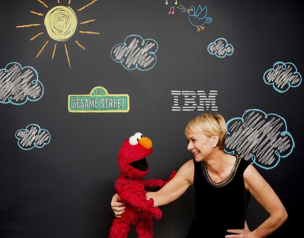 PHOTO COURTESY OF JOHN O'BOYLE, FEATURE PHOTO SERVICE FOR IBM