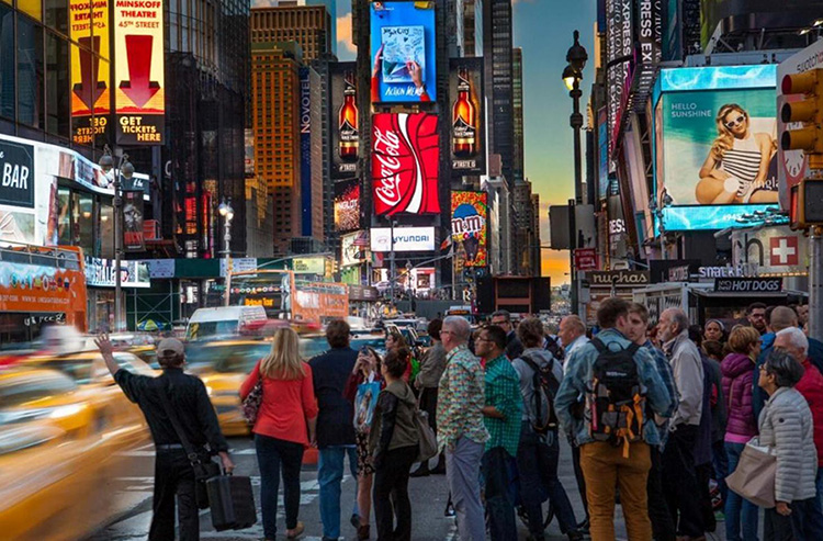 Photo Courtesy of the Times Square Advertising Coalition's Homepage