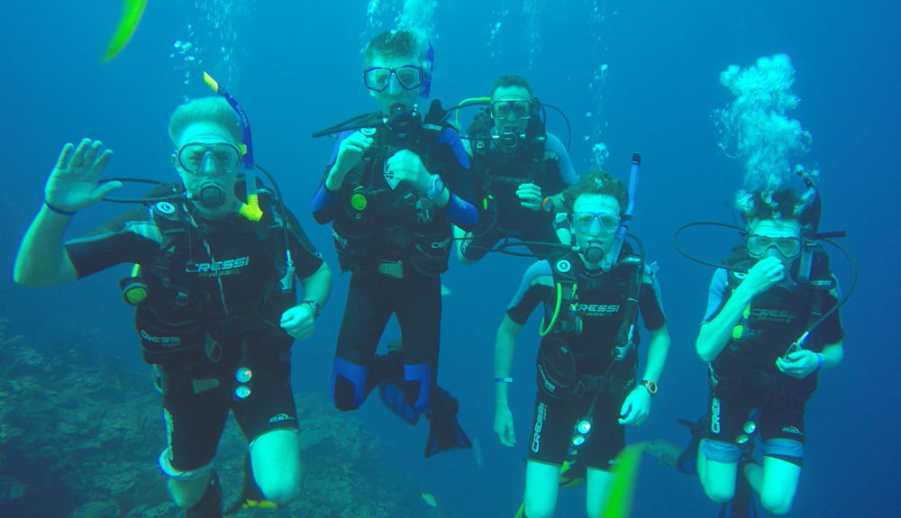 Diving in Playa Giron, The Bay of Pigs