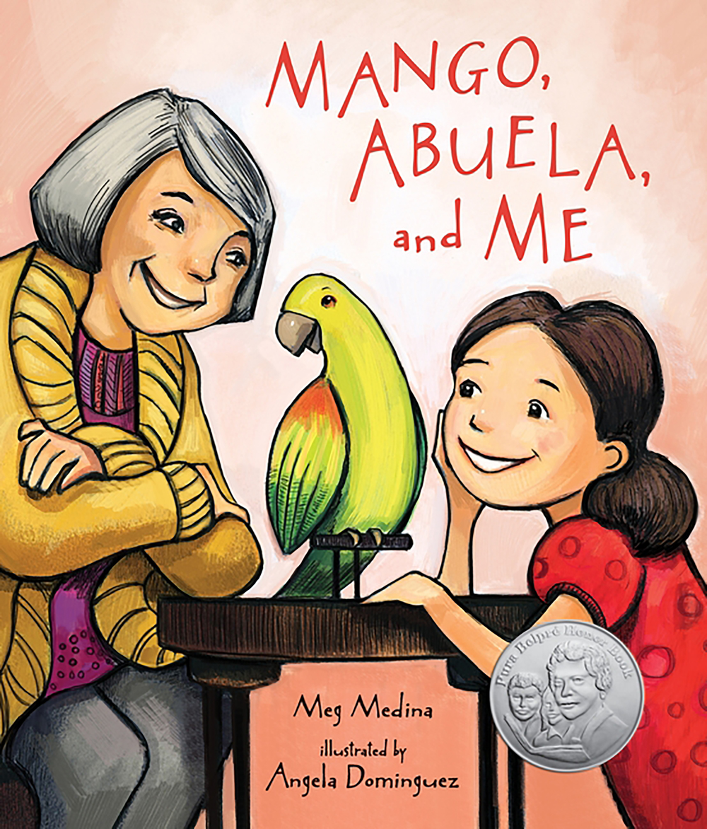 Mango abuela and me