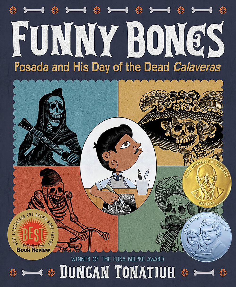 Funny bones posada and his day of the dead calaveras