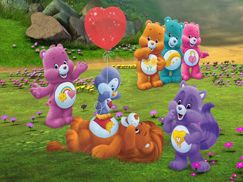 Hello hola the care bears learn a new language the hispanic image courtesy of american greetings entertainment m4hsunfo