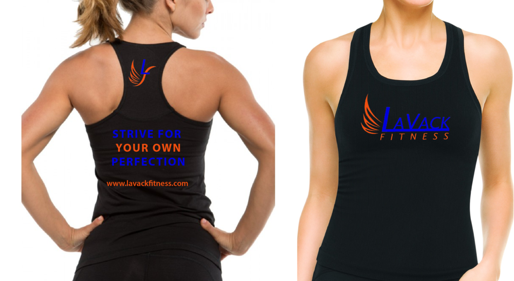LaVack Fitness apparel design