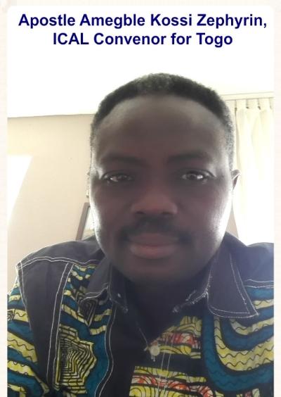 Togo Convenor, Apostle Amegble Kossi Zephyrin!
