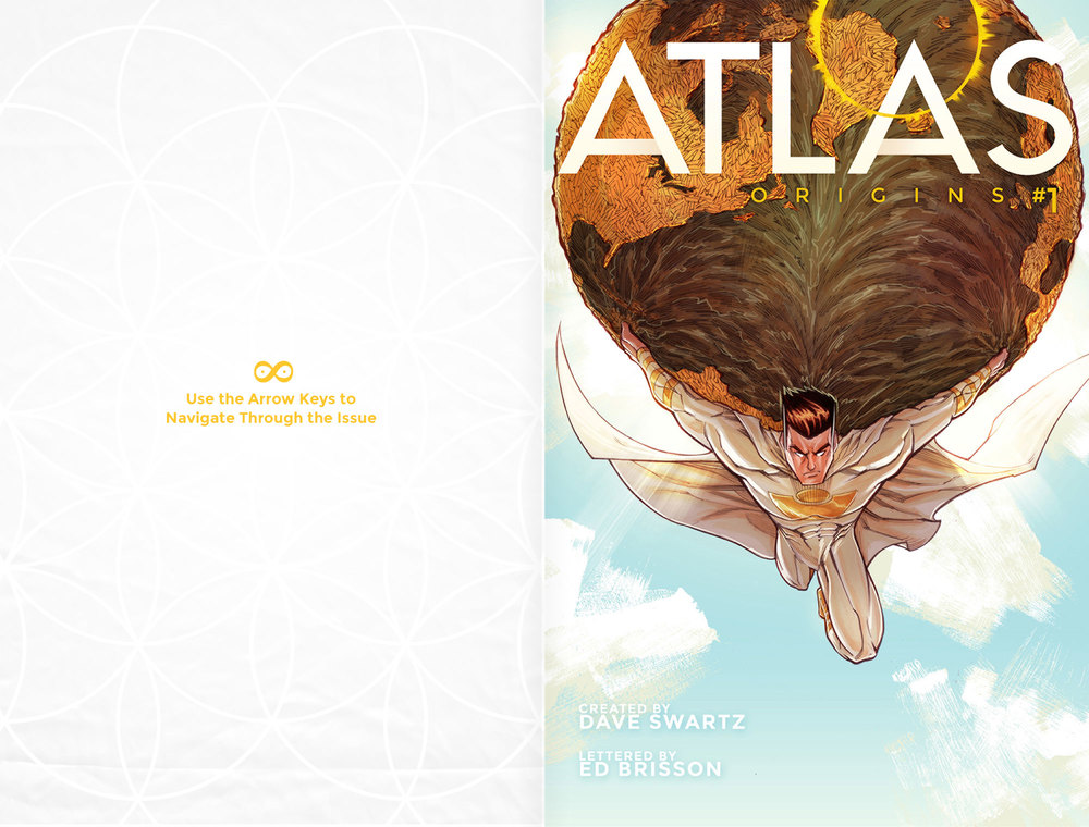 Atlas Origins Issue #1 Cover