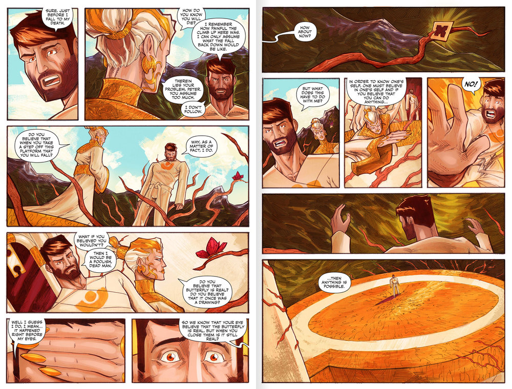 Atlas Origins Issue #1 Page 22 & 23