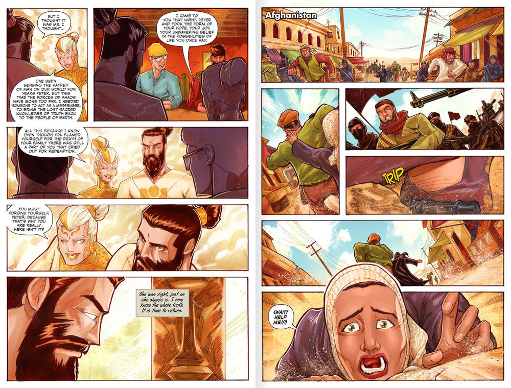 Atlas Origins Issue #1 Page 26 & 27