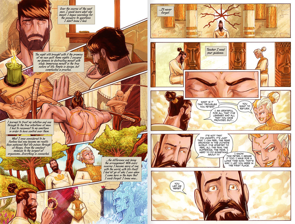 Atlas Origins Issue #1 Page 24 & 25