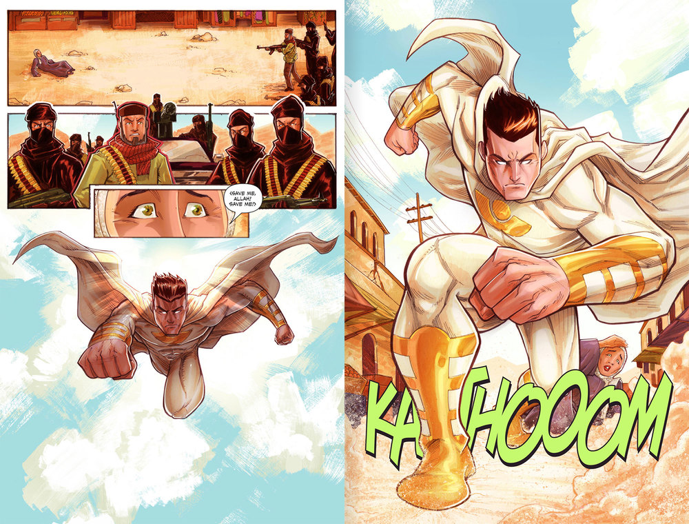 Atlas Origins Issue #1 Page 28 & 29