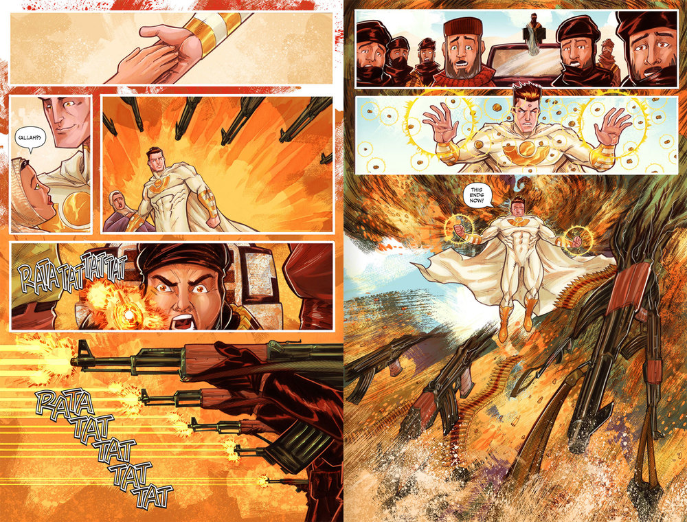 Atlas Origins Issue #1 Page 30 & 31