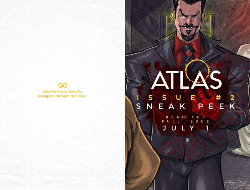 Atlas Issue #2 Sneak Peak Cover