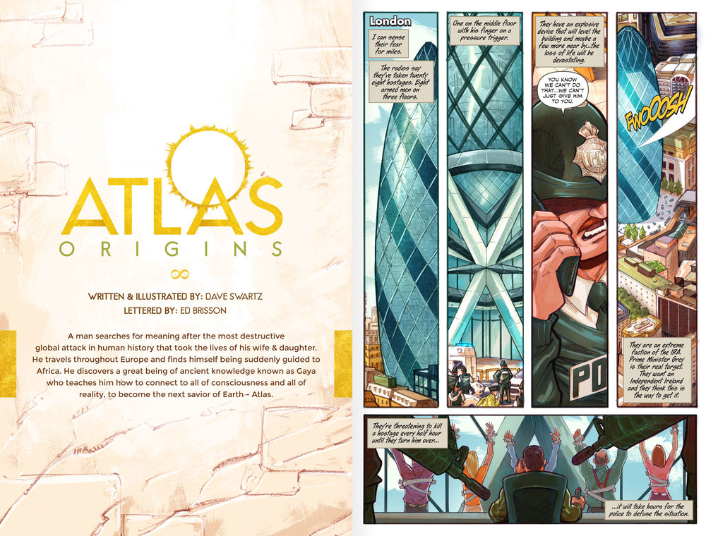 Atlas Issue #2 Sneak Peek - Page 1