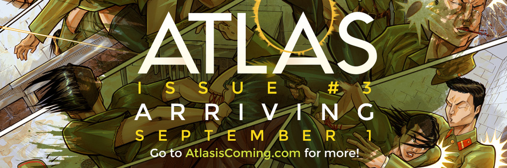 Atlas:ORIGINS Issue #3