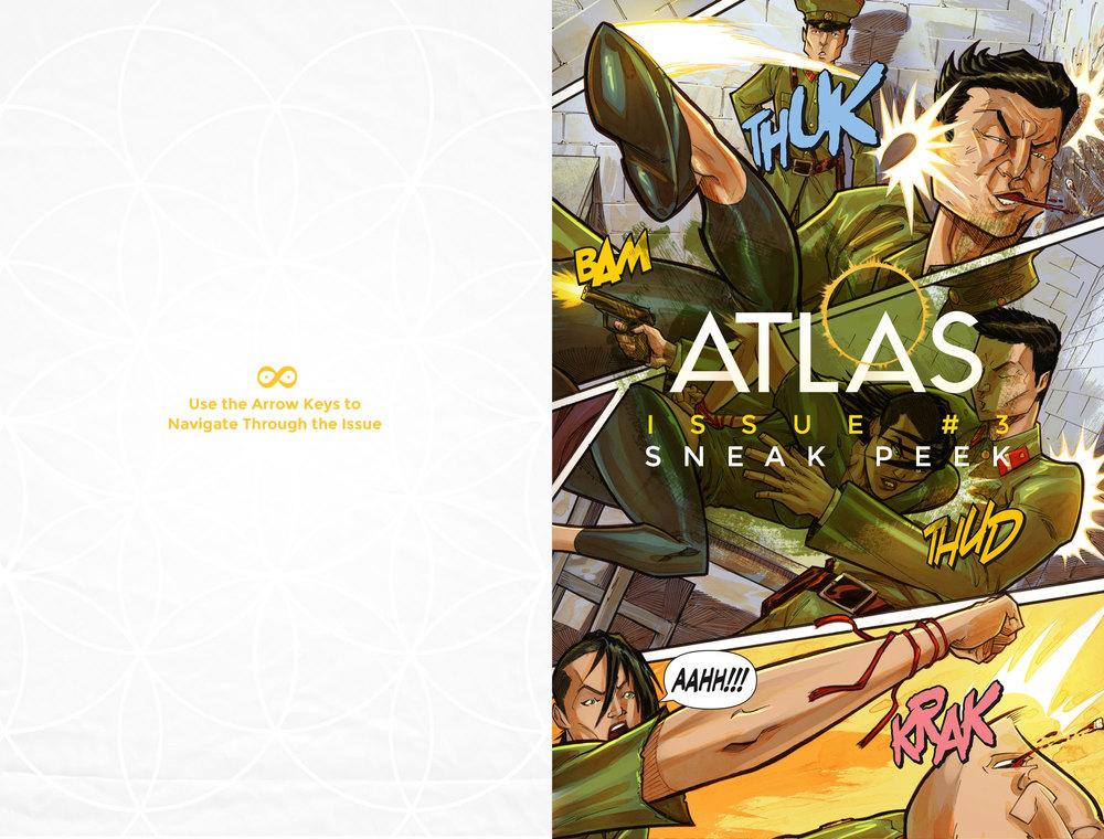 Atlas:ORIGINS Issue #3 - Cover