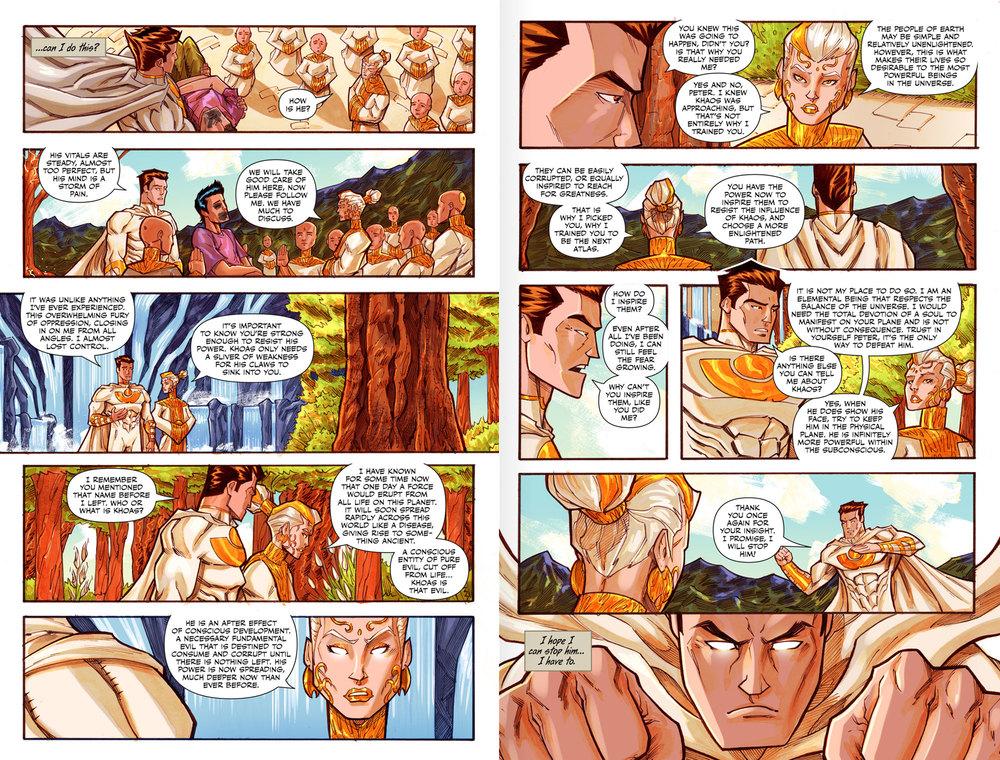 Atlas:ORIGINS Issue #3 - Spread 2