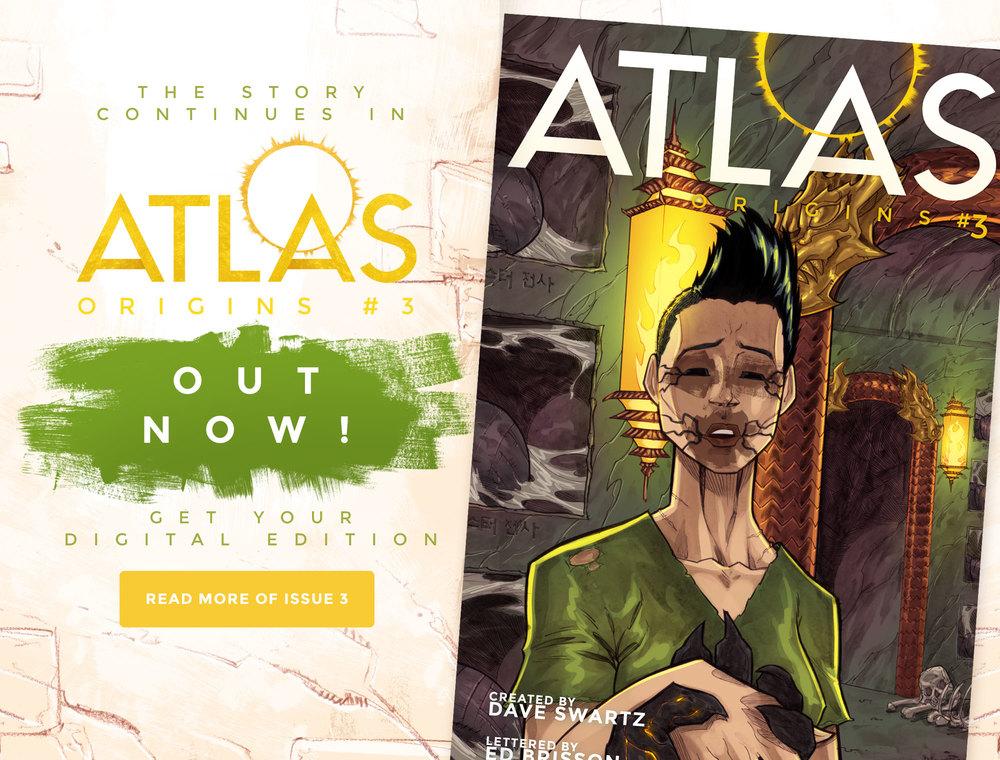 Atlas:ORIGINS Issue #3 - READ FULL ISSUE