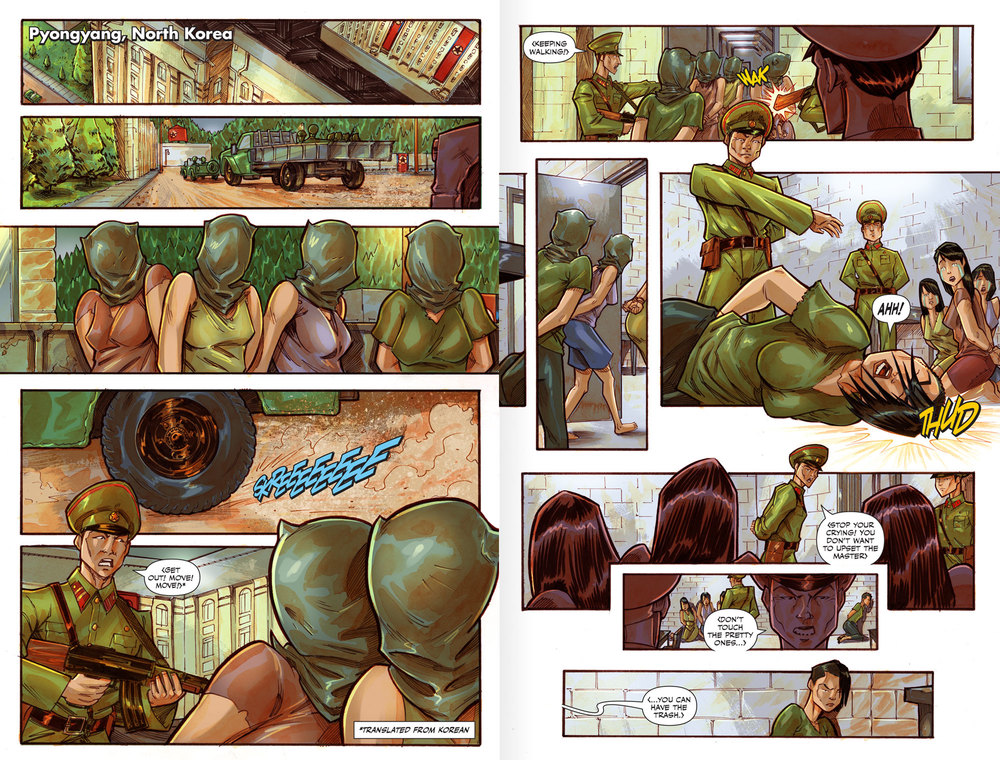 Atlas:ORIGINS Issue #3 - Spread 3