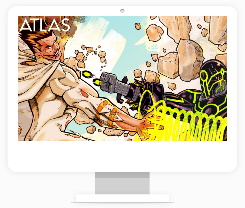 Atlas Issue #4 Wallpaper Background