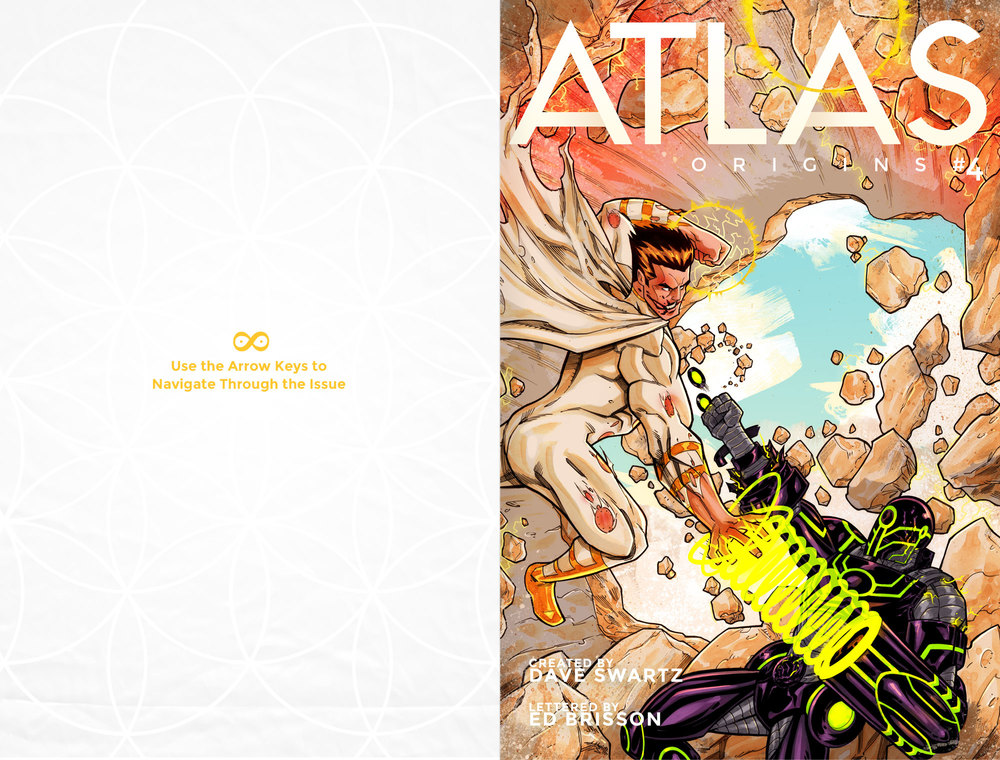 Atlas:ORIGINS Issue #4 - Cover