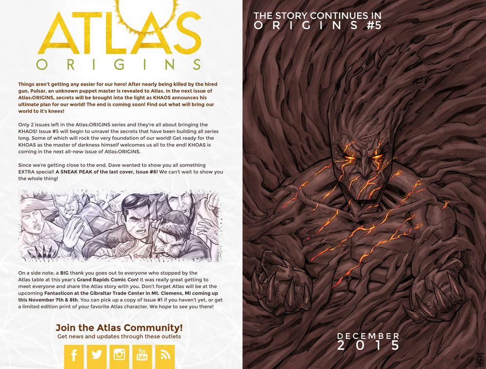 Atlas:ORIGINS Issue #4