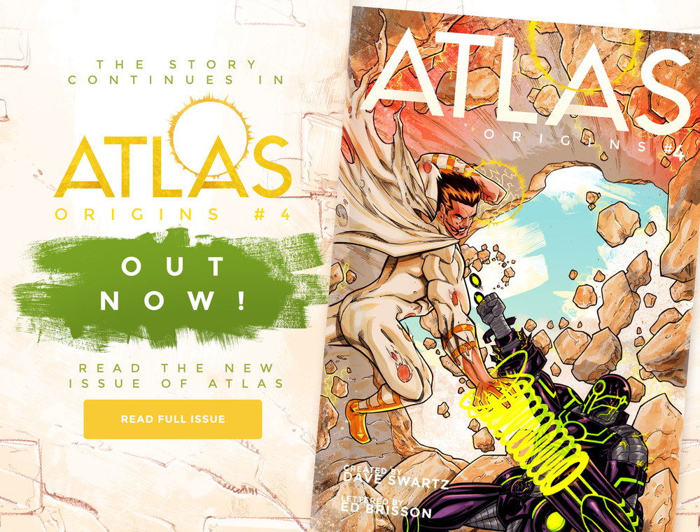 Atlas:ORIGINS Issue #4 - Sneak Peek