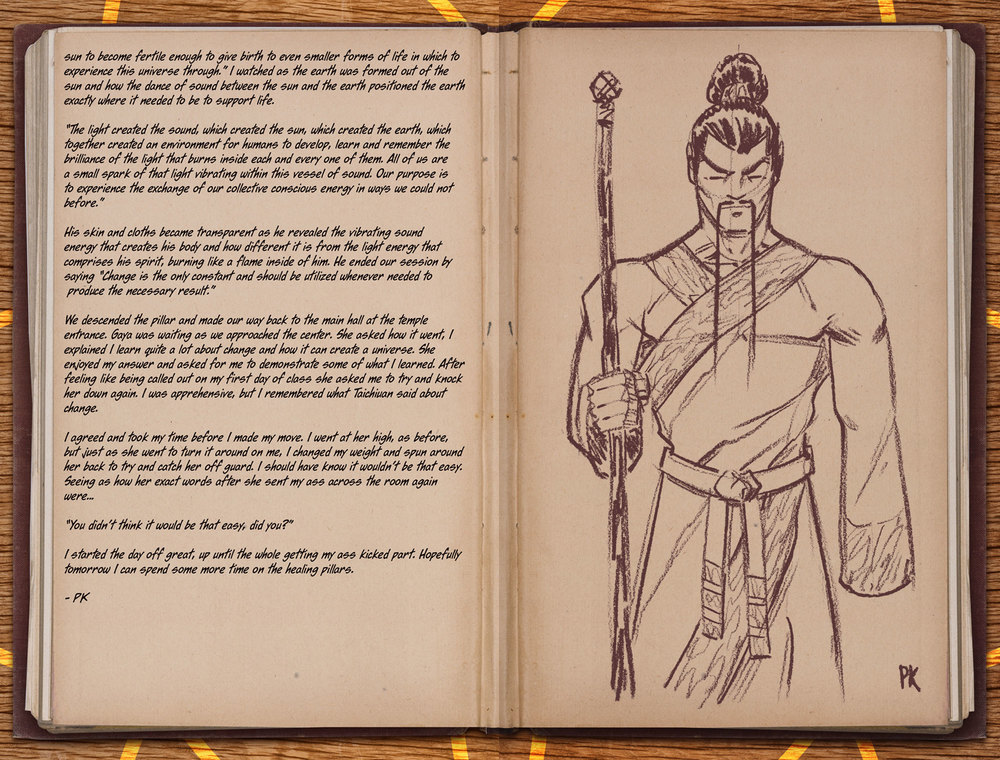 Atlas Training Journal - Day 5 Page 5 & 6