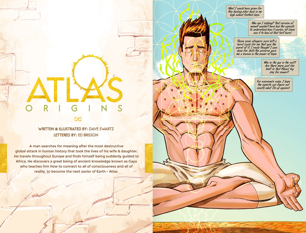 Atlas:ORIGINS Issue #5 - Sneak Preview Page 1