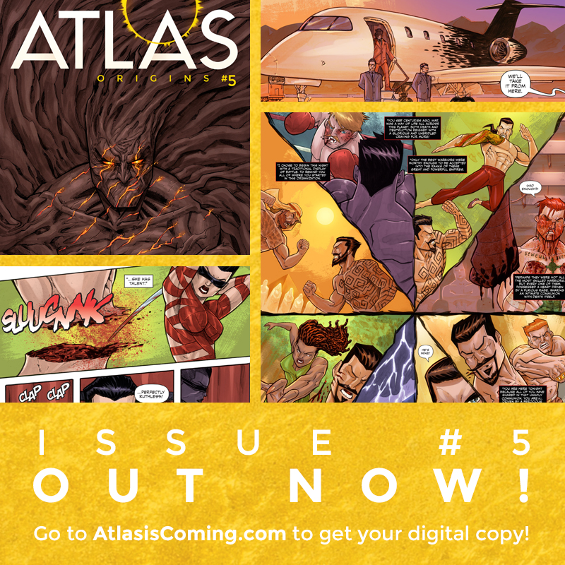Atlas:ORIGINS Issue #5 OUT NOW