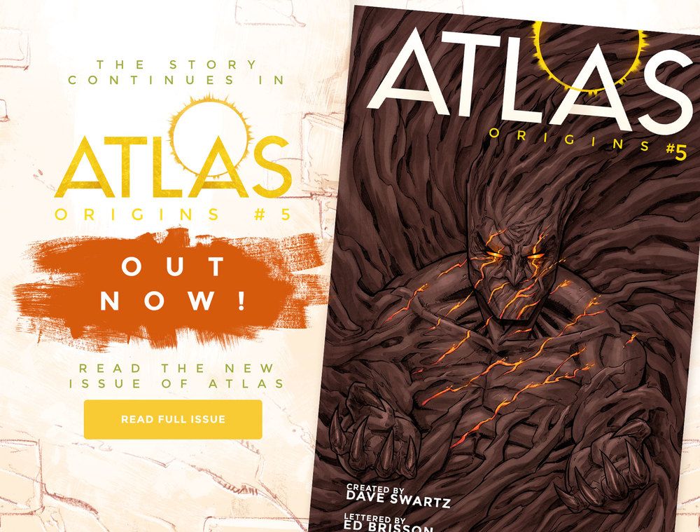 Atlas:ORIGINS Issue #5 - Sneak Preview