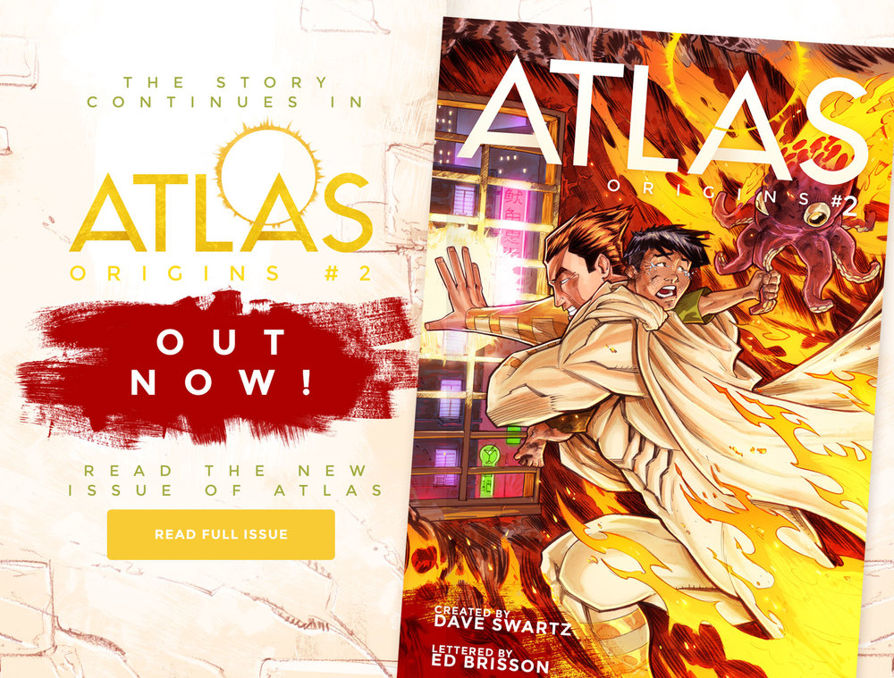 Atlas Issue #2 Preview - OUT NOW