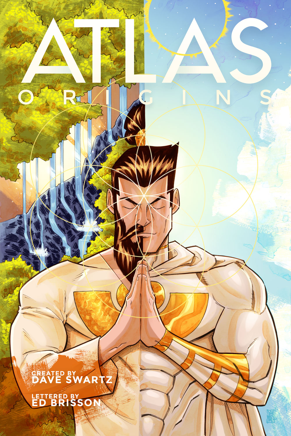 Atlas:ORIGINS Trade Paperback Cover