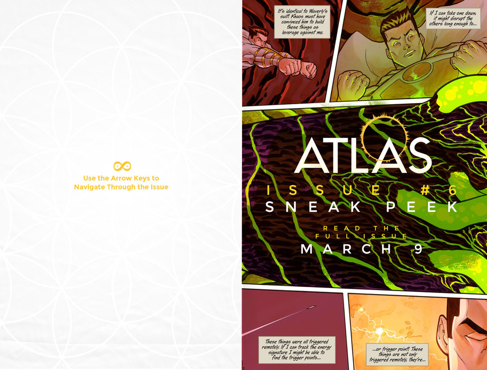 Atlas:ORIGINS Issue #6 - Sneak Preview