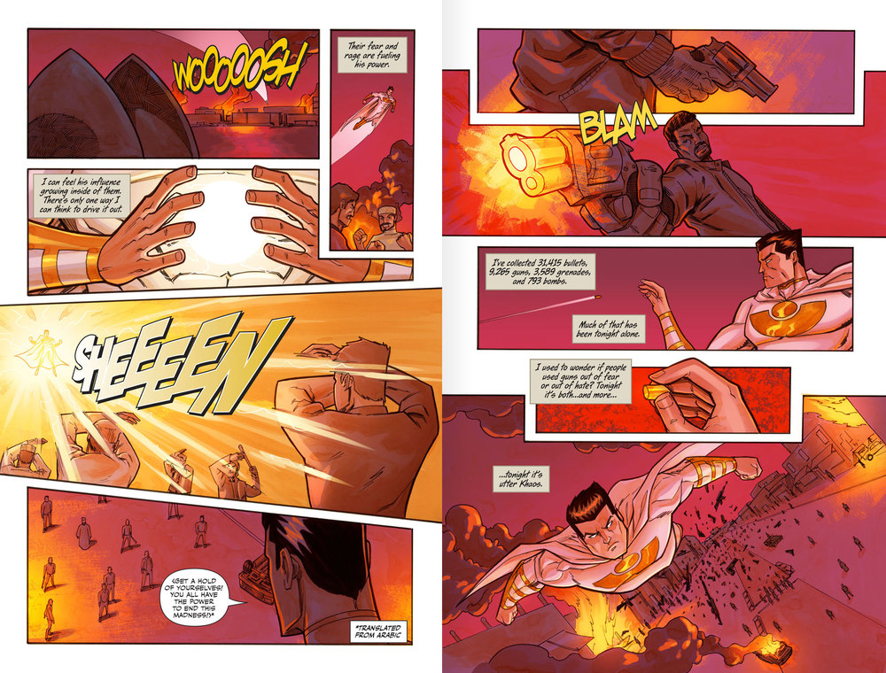 Atlas:ORIGINS Issue #6 - Sneak Preview - Spread 2