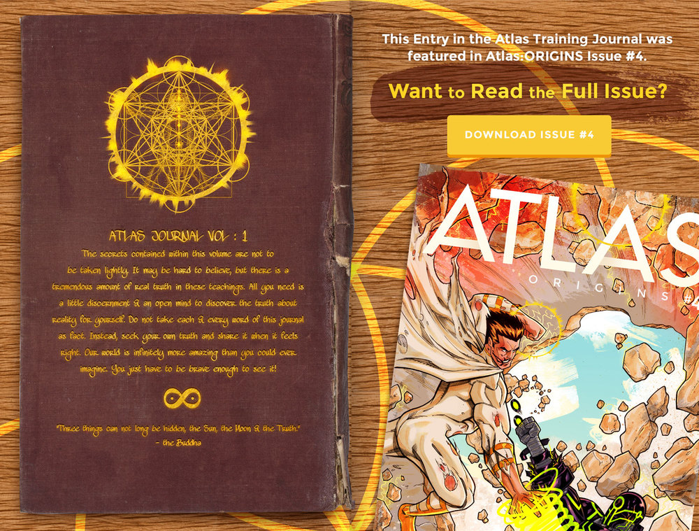 Atlas Training Journal - Day 5 Back Cover
