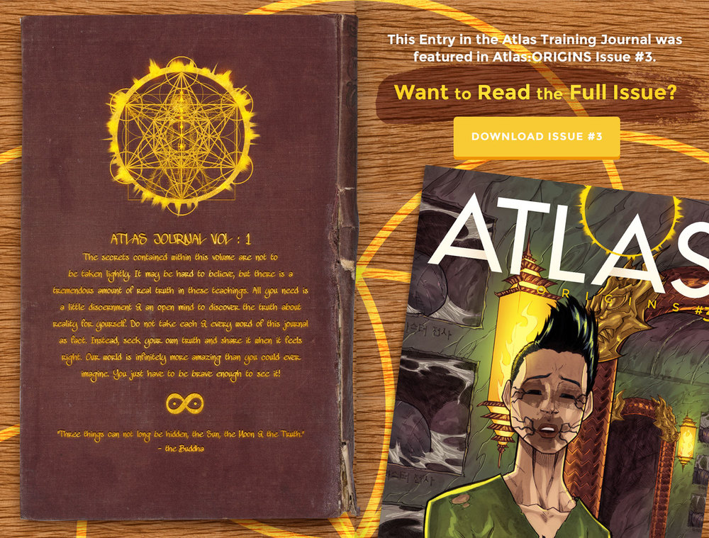Atlas Training Journal - Day 3 Back Cover