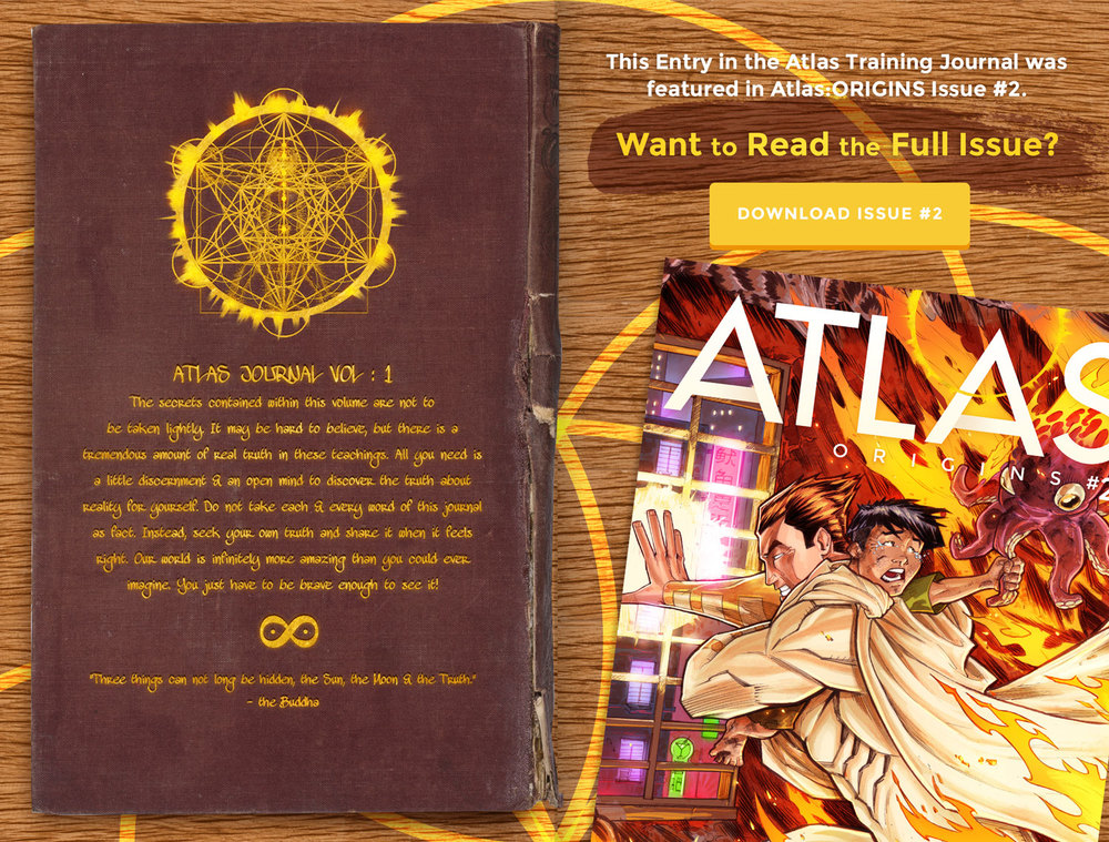 Atlas Training Journal - Day 2 Back Cover