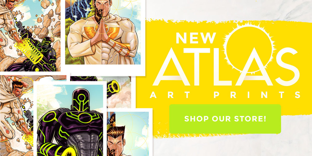 NEW Atlas Art Prints