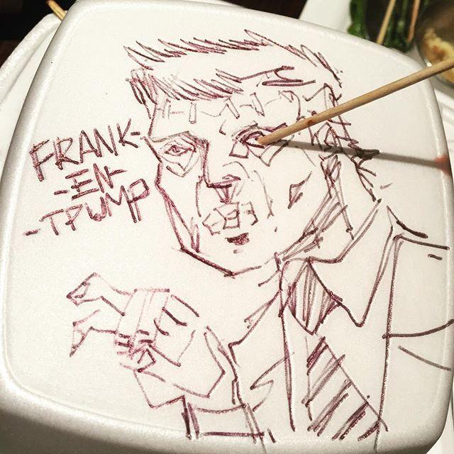Frank-en-trump... #frankentrump